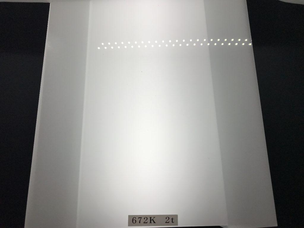 ポリカ拡散板 販売     672K     厚み 2mm