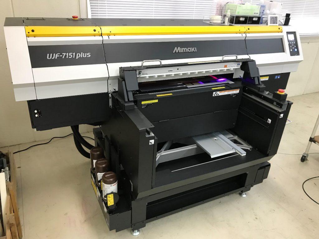 UVインクジェット印刷機 ミマキ製