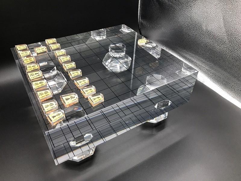 アクリル製将棋盤